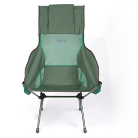 Helinox Savanna Chaise, forest green/steel grey